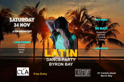 The Latin Night in Byron Bay